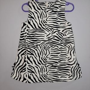 Gymboree Vintage Mod Zebra Jumper Dress Pinafore